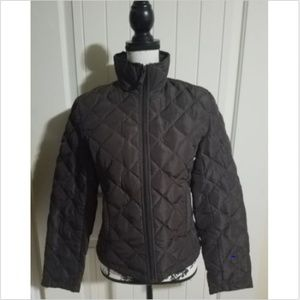 Kenneth Cole Reaction Brown Quilted Puffer Jacket
